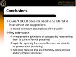 conclusions44