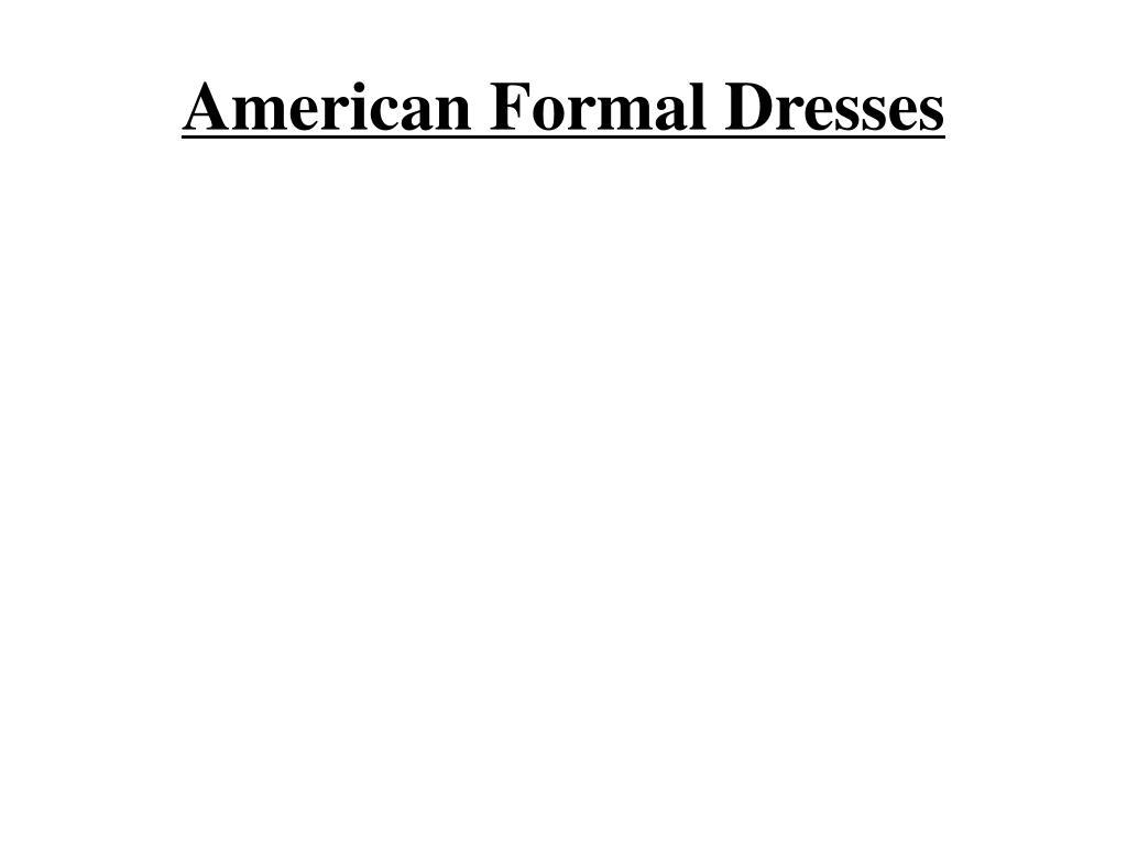 american formal dresses l.