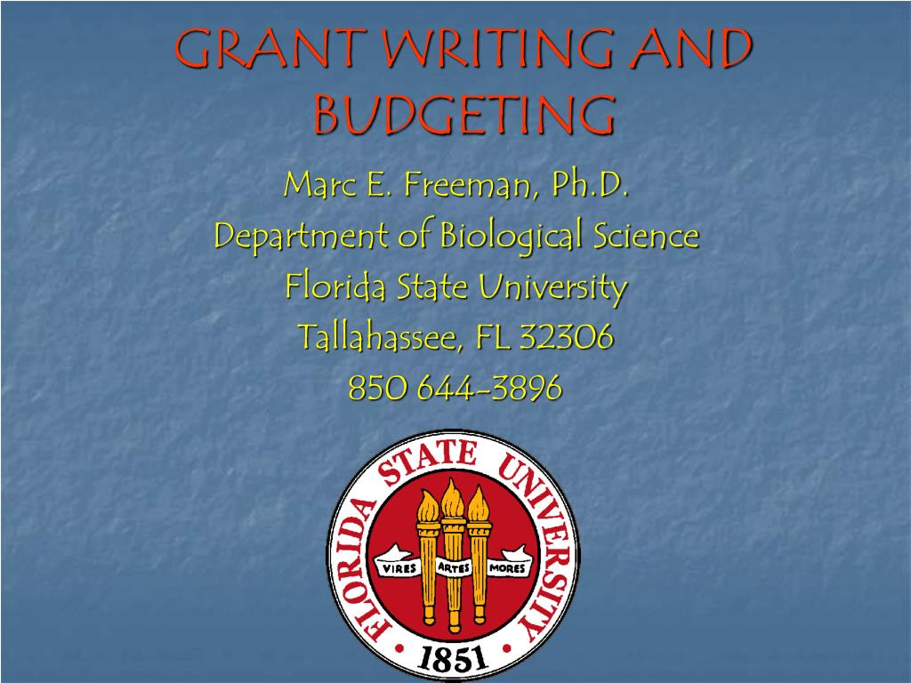 grant writing and budgeting l.
