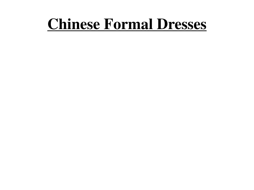 chinese formal dresses l.