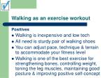 walking as an exercise workout16