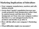 marketing implications of subculture45