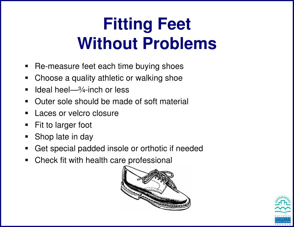 fitting feet without problems l.