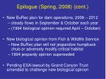 epilogue spring 2008 cont
