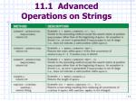11 1 advanced operations on strings11