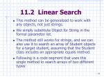 11 2 linear search18