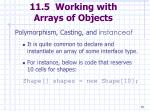 11 5 working with arrays of objects