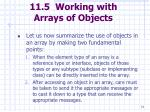 11 5 working with arrays of objects74