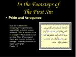 in the footsteps of the first sin30