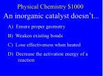 physical chemistry 1000