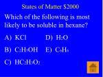 states of matter 2000