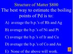 structure of matter 800