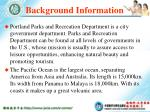 background information18