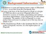background information20