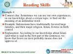 reading skills13