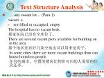 text structure analysis64