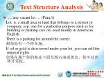 text structure analysis67