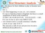 text structure analysis68