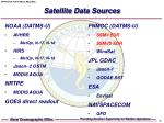 satellite data sources12