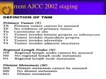 current ajcc 2002 staging
