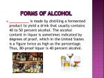 forms of alcohol8