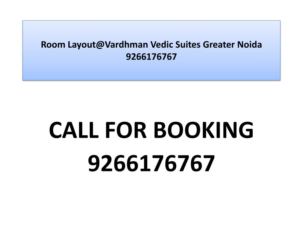 room layout@vardhman vedic suites greater noida 9266176767 l.