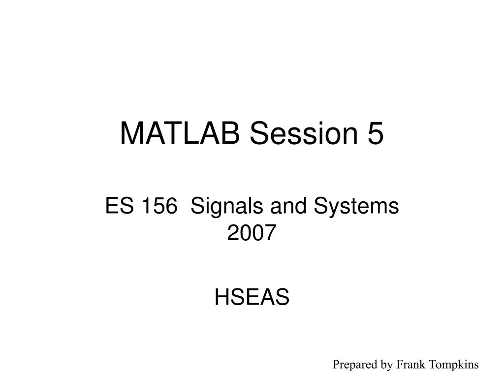matlab session 5 l.