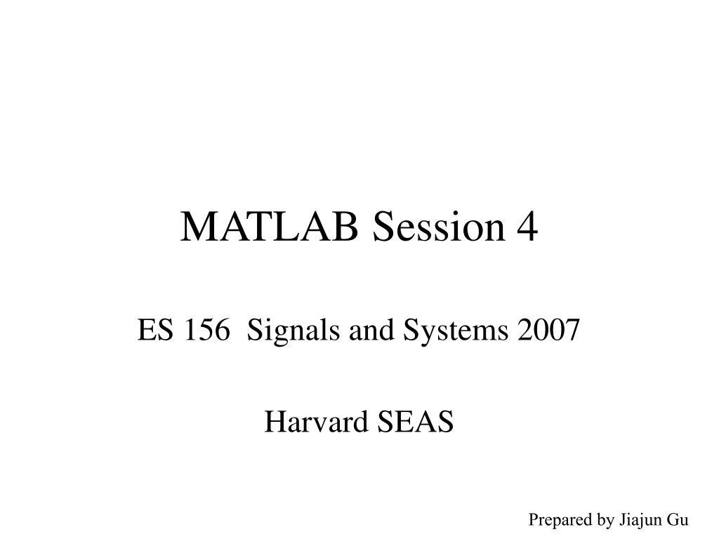 matlab session 4 l.