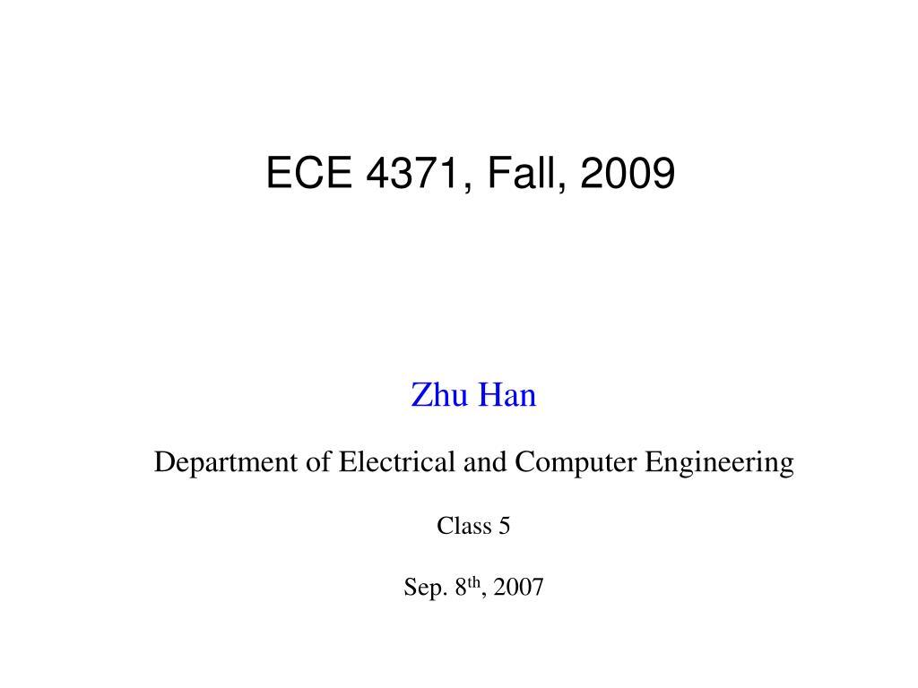 ece 4371 fall 2009 l.