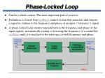 phase locked loop