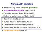 nonsmooth methods