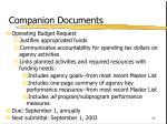 companion documents68