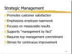 strategic management62