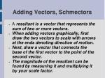 adding vectors schmectors5