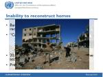 inability to reconstruct homes