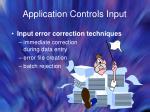 application controls input37