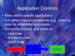 application controls33