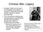 crimean war legacy