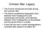 crimean war legacy38