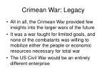 crimean war legacy40