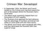 crimean war sevastopol