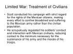 limited war treatment of civilians