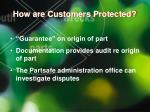 how are customers protected