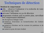 techniques de d tection62