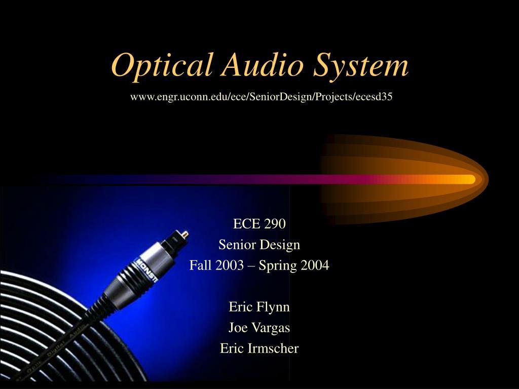 optical audio system l.
