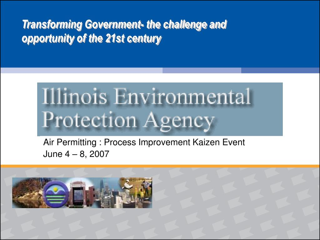 air permitting process improvement kaizen event june 4 8 2007 l.