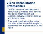 vision rehabilitation professionals18