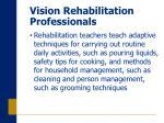 vision rehabilitation professionals19