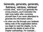 generate generate generate retrieve retrieve retrieve59