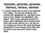 generate generate generate retrieve retrieve retrieve63